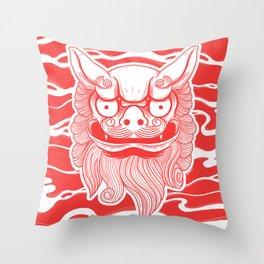 SHISA!  Throw Pillow