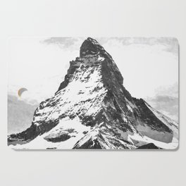 Black and White Mountain Cutting Board