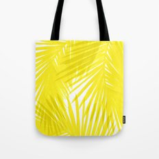 Palms Yellow Tote Bag