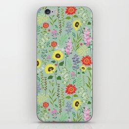 flower garden 2 iPhone Skin