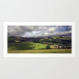 The Hope Valley Derbyshire Art Print