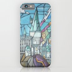 Hogwarts stained glass style Slim Case iPhone 6s
