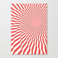 vertigo Canvas Prints featuring Vertigo by Simon C Page