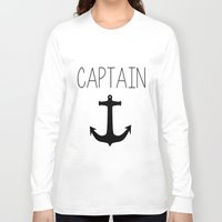 captain silva Long Sleeve T-shirts featuring Captain by Nicolekay