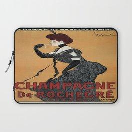 Vintage poster - Champagne De Rochegre Laptop Sleeve