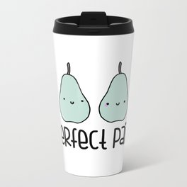 Perfect Pair Metal Travel Mug