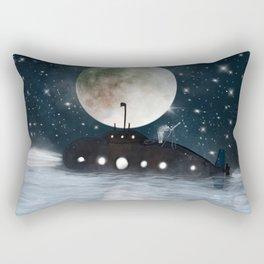 the astrologer Rectangular Pillow