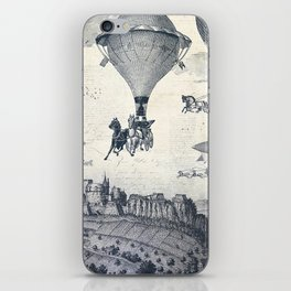 Carrilloons over the City iPhone Skin