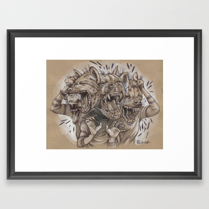 A Sense of Humor Framed Art Print
