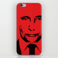 putin iPhone & iPod Skins featuring Geneva 2  by sedkialimam