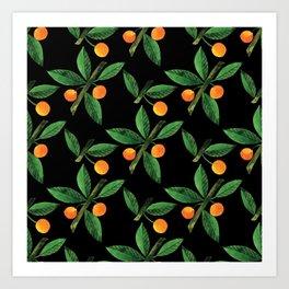 Botanic Watercolor Collection #2 Art Print