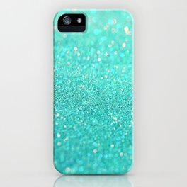 sparkle sea iPhone Case