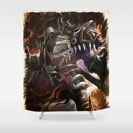 League of Legends SION Shower Curtain