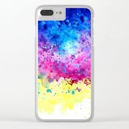 Splatter Clear iPhone Case