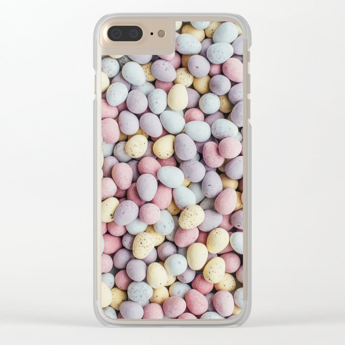 eggs color Clear iPhone Case