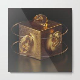 earcube Metal Print