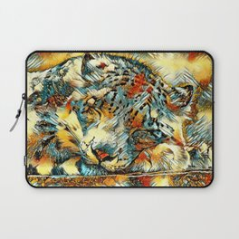 AnimalArt_Leopard_20170605_by_JAMColors Laptop Sleeve
