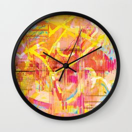Writing on The Wall 02 Wall Clock