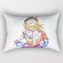 MARIA FROM ALENTEJO-PORTUGAL Rectangular Pillow