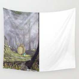 Totoro's Forest Wall Tapestry