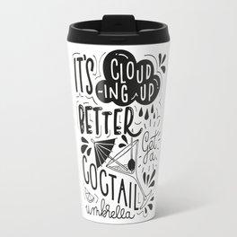 Coctail Umbrella Travel Mug