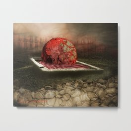 Scorched Earth Policy I Metal Print