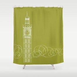 London by Friztin Shower Curtain