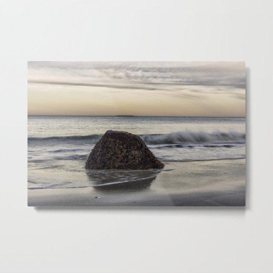 Waves at the beach Metal Print