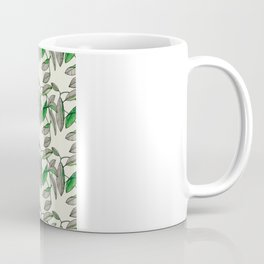 Watercolor Leaves Coffee Mug