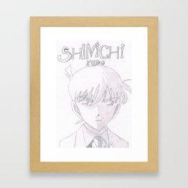 Shinichi Kudo Framed Art Print