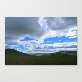Mongolian Steppes Canvas Print