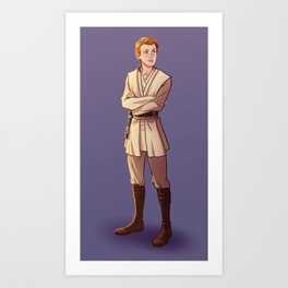 Young Kenobi Art Print