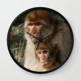 Cheeky Monkey Wall Clock