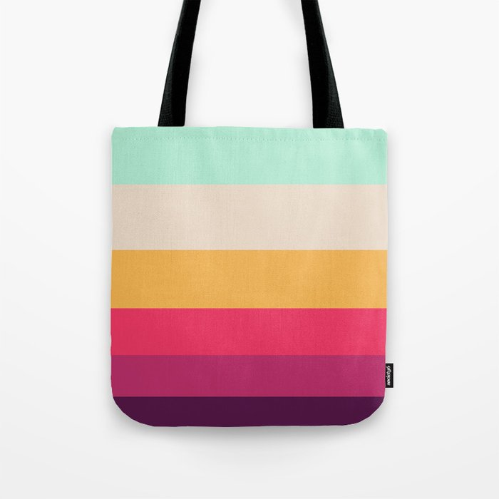 Colorful Mystical Leaves Tote Bag
