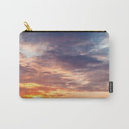 Sunset in the bay of Naples, Italy Carry-All Pouch
