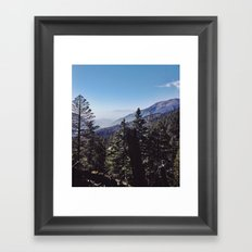 San Bernardino Mountains Framed Art Print