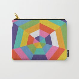 Heptagon Quilt 4 Carry-All Pouch