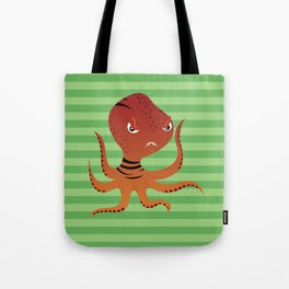 Tiger Squid Tote Bag