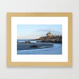 Good Harbor Beach Gloucester MA Framed Art Print