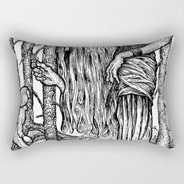 John Bauer Trollörten Rectangular Pillow