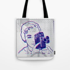 3D Camera Tote Bag