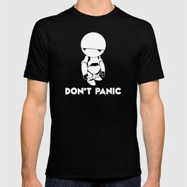 Don't Panic Marvin T-shirt