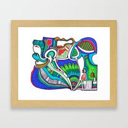 Watch! Framed Art Print