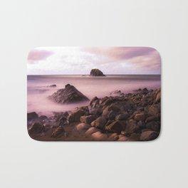 Black Rock, Widemouth Bay, Bude, Cornwall, England, UK Bath Mat