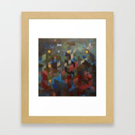 * Intersection * Framed Art Print