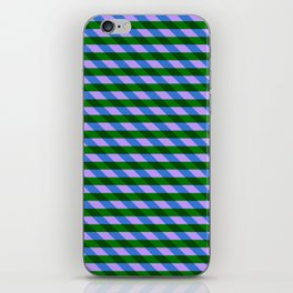 Color_Stripe_2019_002 iPhone Skin