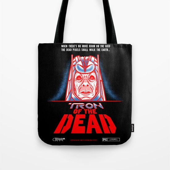 Tron of the dead Tote Bag
