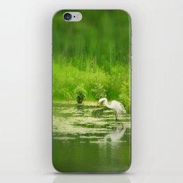 Marsh Egret 2 iPhone Skin