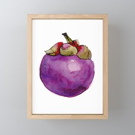 Mangosteen Framed Mini Art Print