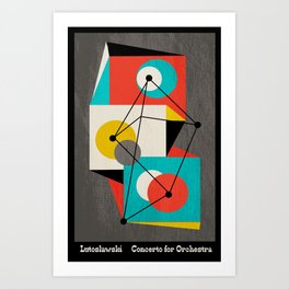 Lutoslawski Concerto for Orchestra Art Print